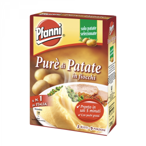 KNORR 14 Confezioni preparati per purea gnocchi pfanni 9 porzioni 82gr
