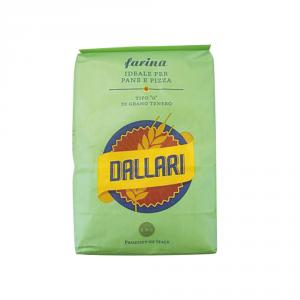 DALLARI 10 Confezioni farina di grano tenero duro tipo 0 1kg