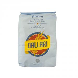 DALLARI 10 Confezioni farina di grano tenero duro tipo 00 1kg