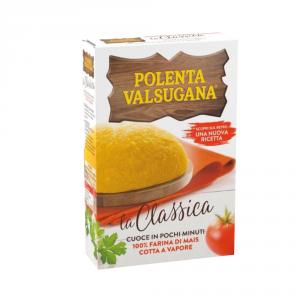 VALSUGANA 25 Confezioni farina di mais polenta pronta 375gr