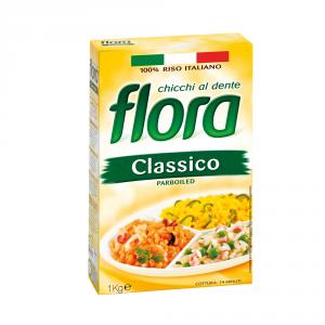 FLORA 10 Confezioni riso parboiled classico 1kg