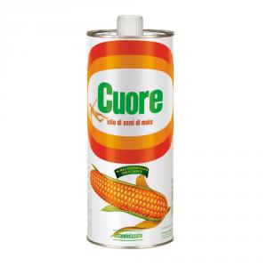 CUORE 20 Confezioni olio di semi di mais 1lt
