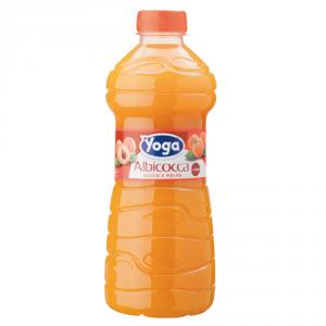 YOGA 6 Confezioni nettari di frutta succo pet albicocca 1000ml