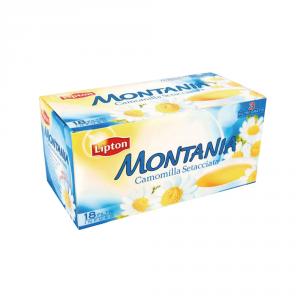 LIPTON 15 Confezioni camomilla montania 18 filtri