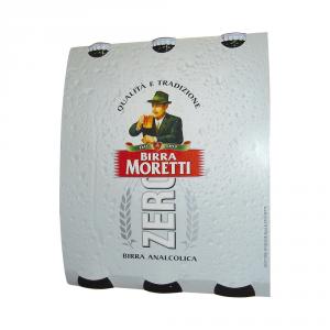 BIRRA MORETTI 8 Confezioni birra analcoclica zero bottiglia 330ml 3 pezzi