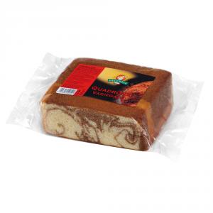 GECCHELE 6 Confezioni torte pronte preparati quadrone variegato 400gr al cacao