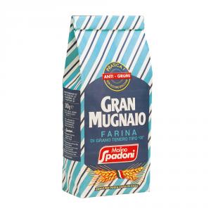 GRAN MUGNAIO 10 Confezioni farina di grano tenero duro tipo 00 1kg