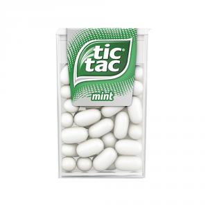 FERRERO 24 Confezioni caramelle in stick con zucchero tic tac menta