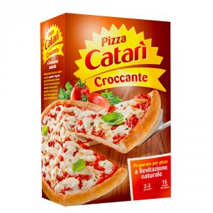 CATARI 12 Confezioni preparati per pizza pizza catari croccante