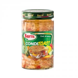 BERNI 12 Confezioni ortaggi sottoli conditoast 290g