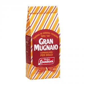 GRAN MUGNAIO 10 Confezioni farina di grano tenero duro tipo 00 per dolci 1kg