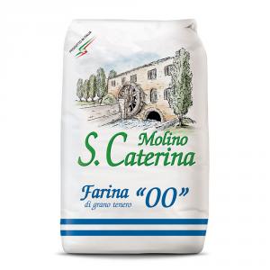 S.CATERINA 10 Confezioni farina di grano tenero duro tipo 00 1kg