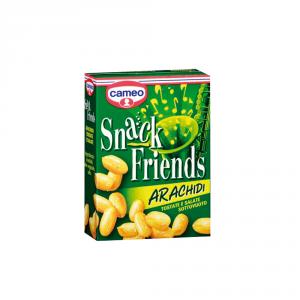 CAMEO 20 Confezioni semi tostati snack friends arachidi in scatola 40gr