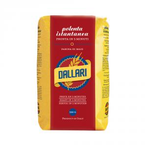 DALLARI 10 Confezioni farina di mais polenta pronta istantanea 500gr
