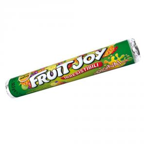 FRUITJOY 36 Confezioni caramelle in stick con zucchero big tube 55,gr