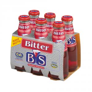 BIS 4 Confezioni aperitivi analcolici bitter analcolico 100ml 6 pezzi