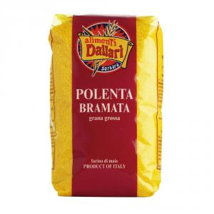 DALLARI 10 Confezioni farina di mais polenta pronta bramata 1kg