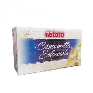 RISTORA 4 Confezioni camomilla 100 buste