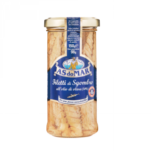 AS DO MAR 12 Confezioni sgombri sardine filetti 150gr allolio doliva