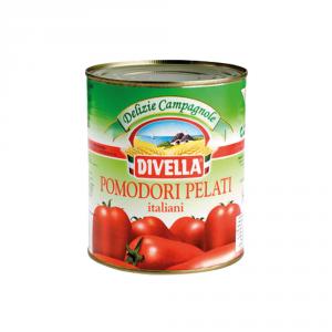 DIVELLA 12 Confezioni pomodori pelati pelati 800gr