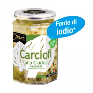 CITRES 12 Confezioni ortaggi sottoli carciofi giudea 314ml fonte di iodio