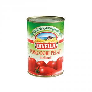 DIVELLA 24 Confezioni pomodori pelati pelati 400gr