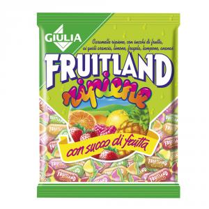 FRUITLAND 12 Confezioni caramelle in busta con zucchero assortite