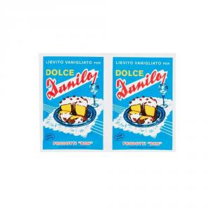 DANILO 25 Confezioni lievito amido e fecole dolce danilo 8gr 2 pezzi