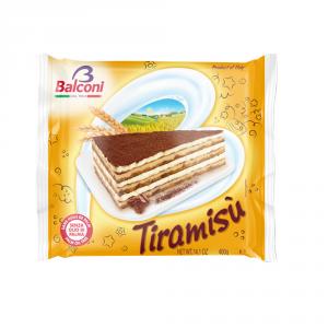 BALCONI 6 Confezioni torte pronte tiramisu senza olio di palma 400gr