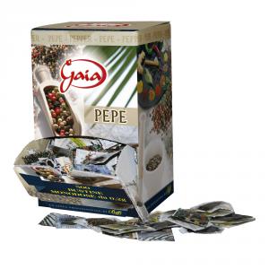 GAIA Spezie e aromi pepe monodose 2gr 500 bustine