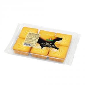 GECCHELE 12 Confezioni pasticceria cuor di tenerezza soffici e delicati 240gr