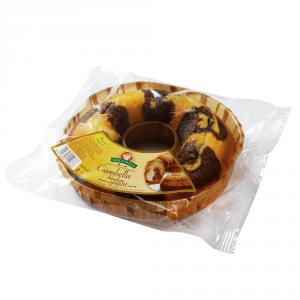 GECCHELE 6 Confezioni torte pronte ciambella bicolore 400gr con yogurt