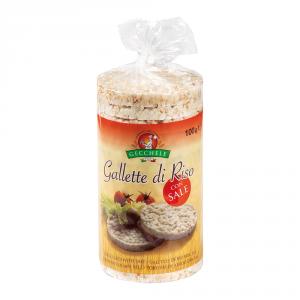 GECCHELE 12 Confezioni prodotti per celiaci gallette riso 100gr