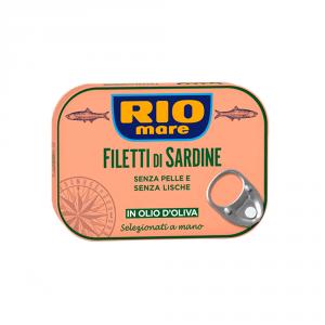 RIO MARE 20 Confezioni conserve sardine 105g in olio doliva