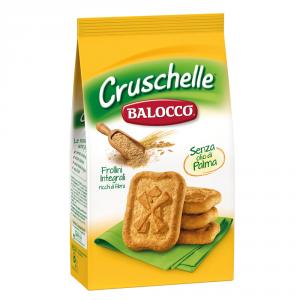 BALOCCO 12 Confezioni biscotti frollini integrali cruschelle 350gr