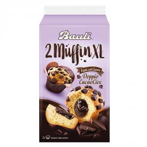 BAULI 10 Confezioni merendine farcite plum cake con cioccolato 220gr