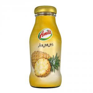 AMITA 24 Confezioni bevanda frutta 30-99% succo ananas 200ml bottiglia