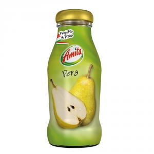 AMITA 24 Confezioni bevanda frutta 30-99% succo pera 200ml bottiglia