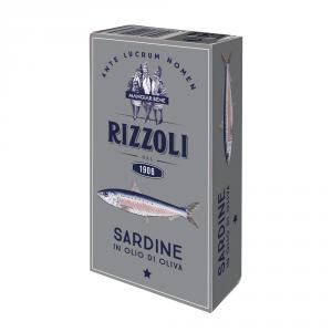 RIZZOLI 10 Confezioni conserve sardine 120gr