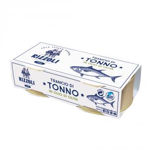 RIZZOLI 24 Confezioni tonno sottolio 80gr 2 pezzi