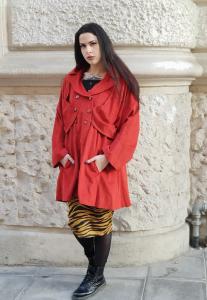 Cappotto velluto vintage anni 90
