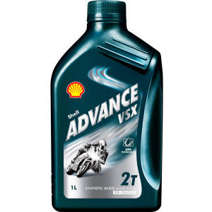OLIO MOTORE SHELL ADVANCE VSX MOTO 2T SYNTHETIC 1L