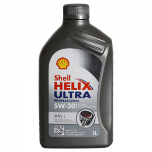 OLIO MOTORE SHELL HELIX ULTRA PROFESSIONAL 5W-30 AM-L FULL SYNTHETIC 1L