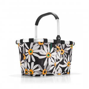 Reisenthel - Carrybag - Cestino per la spesa pieghevole margherite cod. BK7038
