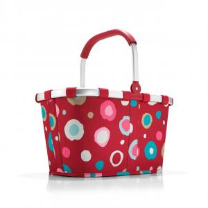Reisenthel - Carrybag - Cestino per la spesa pieghevole multicolore fiori cod. BK3048