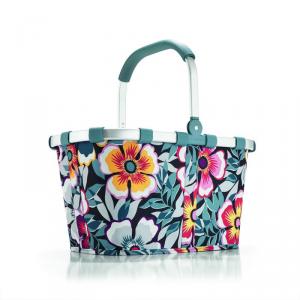 Reisenthel - Carrybag - Cestino per la spesa pieghevole multicolore fiori cod. BK4031
