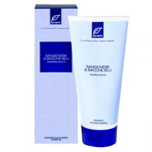 Sangiovese e Bacche Blu Shampoo Doccia Profumati di Benessere