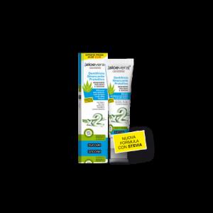 Aloe2 Dentifricio Sbiancante Protettivo con Stevia