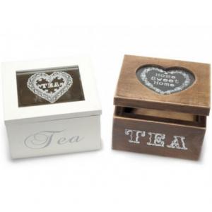 Scatola da Tè a 1 Vano