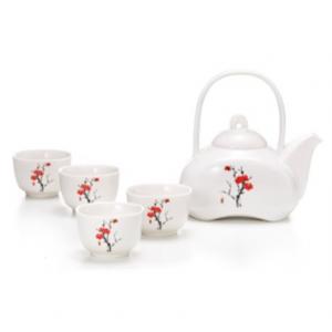 Set da Tè con Fiori di Ciliegio